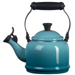 Le Creuset Caribbean Enamel On Steel Demi Tea Kettle, 1.25 Quart