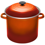 Le Creuset Flame Enamel on Steel 8 Quart Stockpot