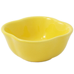 Yellow Bell Pepper Dipping Bowl