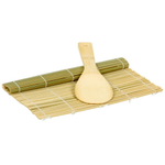 Pao! 2 Piece Natural Bamboo Sushi Making Set