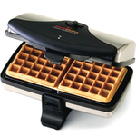 Chef's Choice Stainless Steel Classic WafflePro M852 Waffle Maker