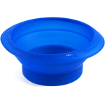 Lekue Blue Silicone Collapsible Mixing Bowl
