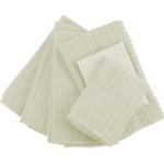 Ivory Microfiber 6 Piece Kitchen Towel Set