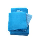 Blue Microfiber 5 Piece Kitchen Towel Set