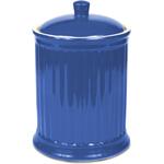 OmniWare Simsbury Blue Stoneware Extra Large Canister