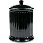 OmniWare Simsbury Black Stoneware Extra Large Canister