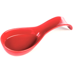 OmniWare Simsbury Red Stoneware Spoon Rest