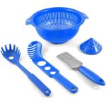 MyPlace Blue 5 Piece Pasta Pack Prep Set
