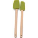 RSVP Green Silicone Mini Spatula, Set of 2