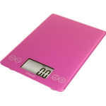 Escali Arti Poppin' Pink Glass Digital Kitchen Scale, 15 Pound