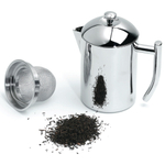 Frieling Stainless Steel Tea Maker With Infuser Basket, 20 Ounce
