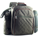 """Mini Me"" Olive Deluxe Insulated Baby Back Pack With Blanket"