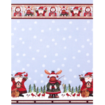 Woolrich Winter Pals Fabric Shower Curtain