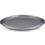 Anolon Advanced Bakeware Round Nonstick Carbon Steel Pizza Crisper, 13 Inch