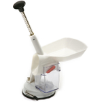 Norpro Deluxe White Cherry Pitter with Suction Base
