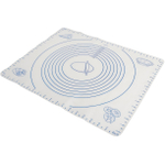 Norpro White Silicone Pastry Mat with Measurements