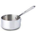 All-Clad Tri-Ply Stainless Steel Butter Warmer, 0.5 Quart