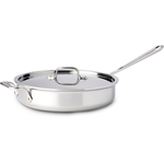 All-Clad Stainless Steel Covered 3 Quart Saute Pan