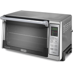 DeLonghi Brushed Stainless Steel Digital Convection Oven