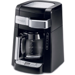 DeLonghi Black 12 Cup Programmable Front Fill Drip Coffee Maker