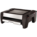 DeLonghi Two-Tier Indoor Grill and Smokeless Broiler, 226 Square Inch
