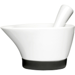 Sagaform White Porcelain Motar and Pestle