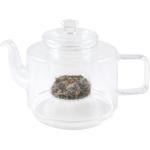 Geometric Glass Teapot, 26 Ounce