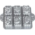 Nordic Ware Platinum Bakeware Harvest Mini Loaf Pan