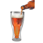Fred and Friends Hopside Down Beer Glass, 12 Ounce