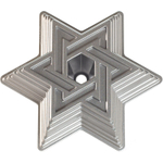 Nordic Ware Platinum Bakeware Star of David Bundt Cake Pan
