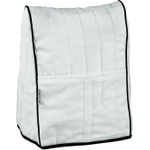 KitchenAid KMCC1WH White Cloth Tilt-Head Stand Mixer Cover