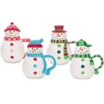 Boston Warehouse Let it Snow Covered Mug