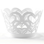 Cupcake Creations With Love Cupcake Wrapper, Set of 6