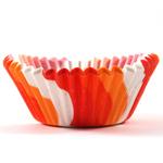 Cupcake Creations Orange Swirl Baking Cup, Set of 80