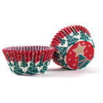 Cupcake Creations Christmas Tree Baking Cup, Set of 32
