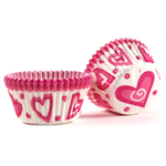 Cupcake Creations Happy Hearts Baking Cup, Set of 32