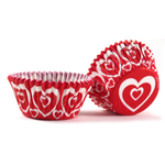 Cupcake Creations Sweetheart Baking Cup, Set of 32