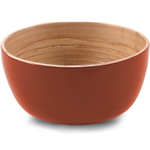 Core Bamboo Terracotta Orange Small Bowl, Set of 4