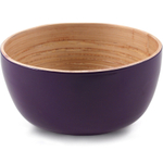 Core Bamboo Eggplant Purple Small Bowl, Set of 4