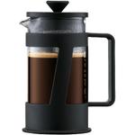 Bodum Crema Black French Press Coffee Maker, 3 Cup