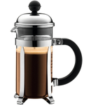 Bodum Chambord French Press Coffee Maker with Shatterproof Beaker, 3 Cup