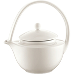 Bodum Eclia White Bone China Tea Press with Stainless Steel Filter, 17 Ounce