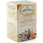 Twinings Herbal Camomile, Honey and Vanilla Bagged Tea, 20 Count