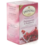Twinings Herbal Pomegranate and Raspberry Tea, 20 Count