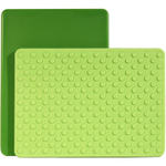 Architec Gripper Green Cutting Board, 8 x 11 Inch