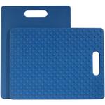 Architec Gripper Blue Cutting Board, 11 x 14 Inch