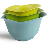 Architec Purelast Cool Colors Mixing Bowl, Set of 3