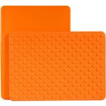 Architec Gripper Orange Cutting Board, 8 x 11 Inch