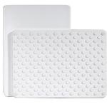 Architec Gripper White Cutting Board, 8 x 11 Inch