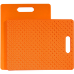 Architec Gripper Orange Cutting Board, 11 x 14 Inch